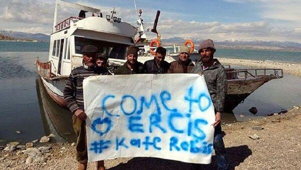 Ercişli balıkçılardan, astronot Kate Rubins'e davet - Sputnik Türkiye