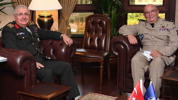 Genelkurmay Başkanı Orgeneral Yaşar Güler, NATO Askeri Komite Başkanı Orgeneral Stuart Peach - Sputnik Türkiye