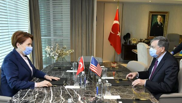 ABD Büyükelçisi Satterfield, İYİ Parti lideri Akşener - Sputnik Türkiye