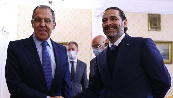 Lavrov - Hariri - Sputnik Türkiye
