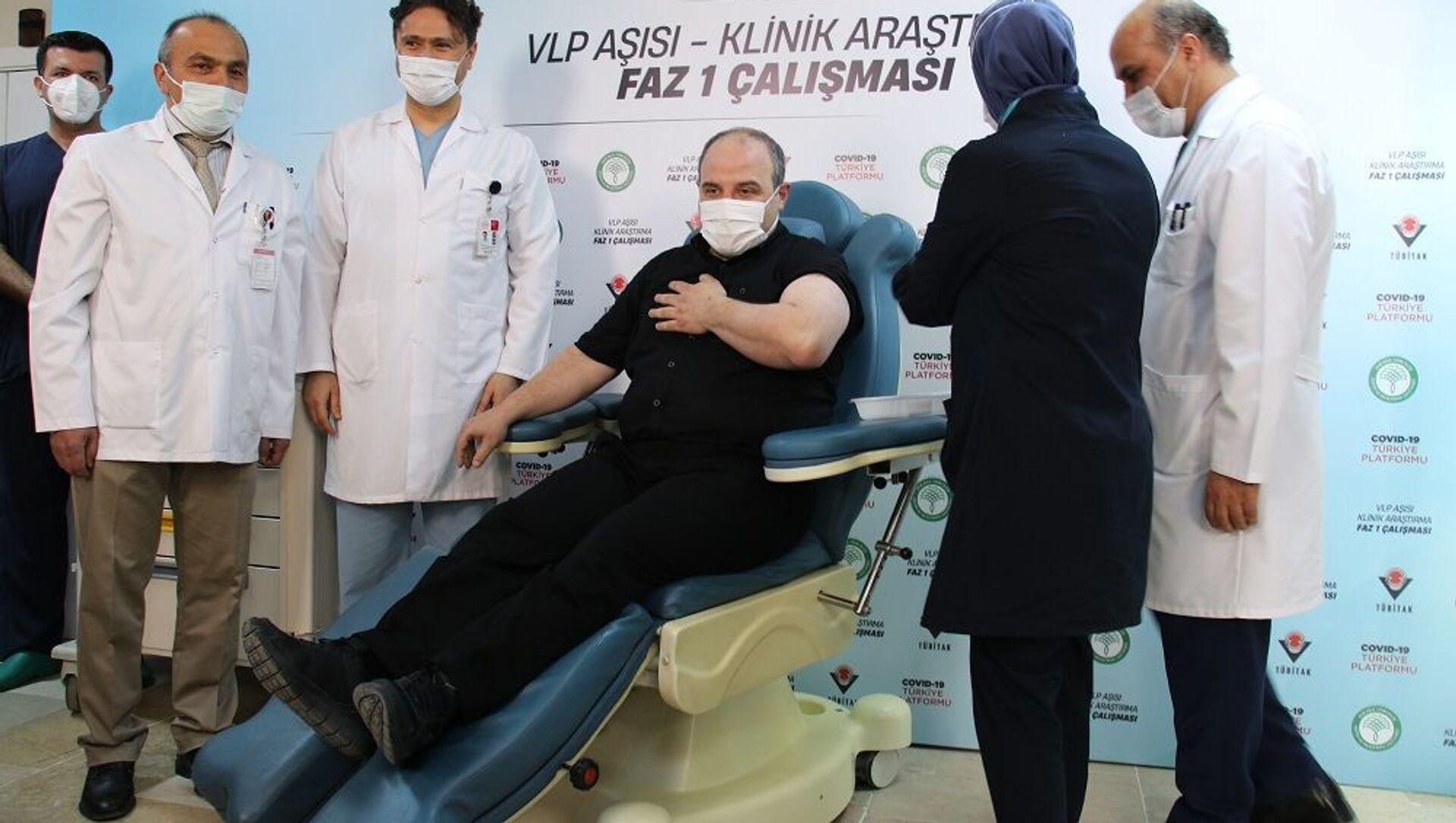 Sanayi ve Teknoloji Bakanı Mustafa Varank, yerli aşı,  - Sputnik Türkiye, 1920, 17.04.2021