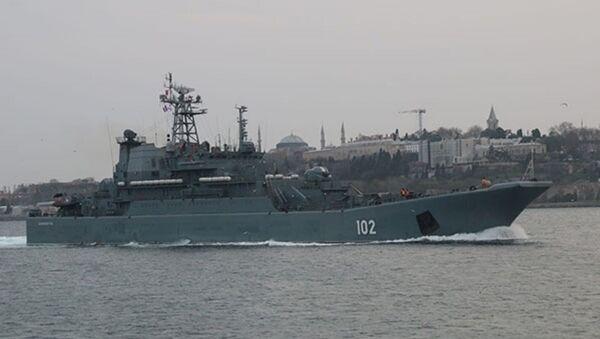 102 borda numaralı 'Kaliningrad'  - Sputnik Türkiye