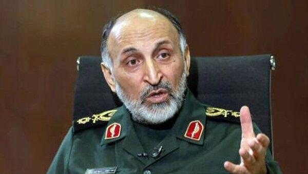 İran Devrim Muhafızları Kudüs Gücü Komutan Yardımcısı General Hüseyin Zade Hicazi - Sputnik Türkiye