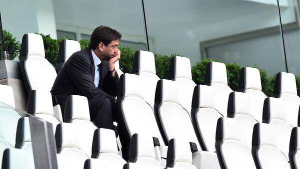 Juventus'un Başkanı Andrea Agnelli - Sputnik Türkiye