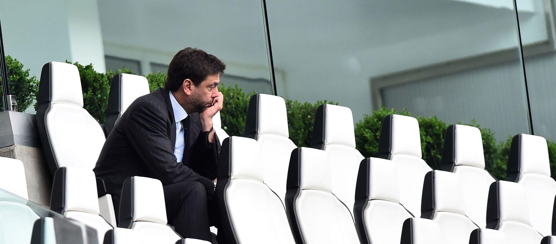 Juventus'un Başkanı Andrea Agnelli - Sputnik Türkiye, 1920, 19.04.2021