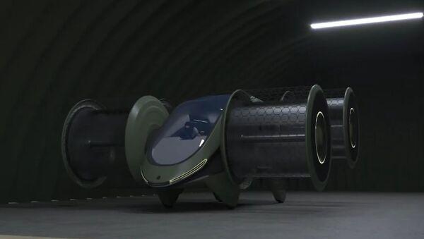Rusya'da 6 kişi taşıyabilen döngüsel motorlu uçan otomobilin geliştirilmesine başlandı - Sputnik Türkiye