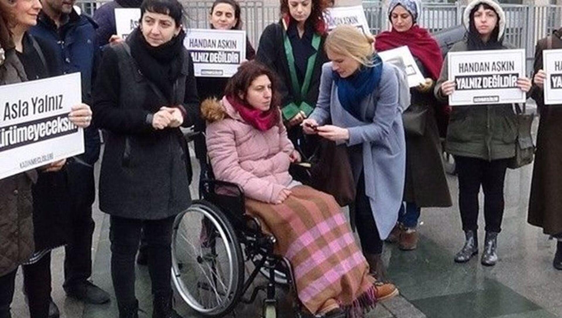 Boşanma davası açan Handan Aşkın'ı felç bırakan saldırgan erkek Emre Aşkın'a ceza indirimi - Sputnik Türkiye, 1920, 21.04.2021