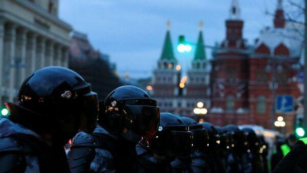 Moskova gösteri, Rusya polis,  - Sputnik Türkiye