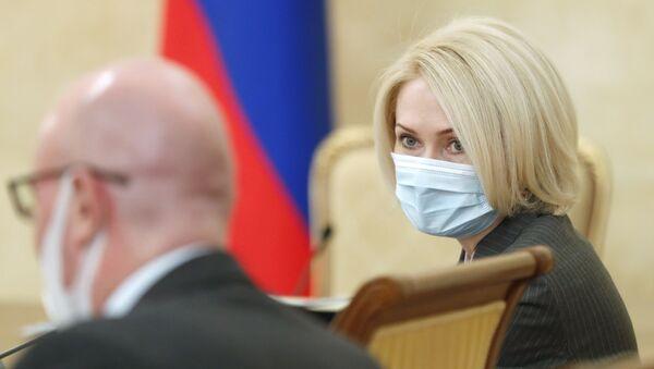 Rusya Başbakan Yardımcısı Victoria Abramçenko - Sputnik Türkiye