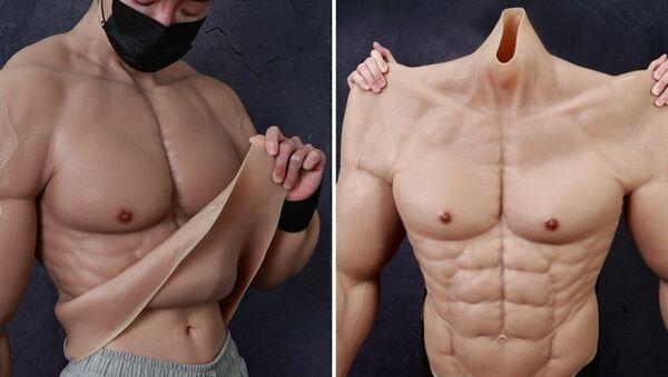 Çin'de hiper gerçekçi 'kaslı vücut kostümü' üretildi  - Sputnik Türkiye