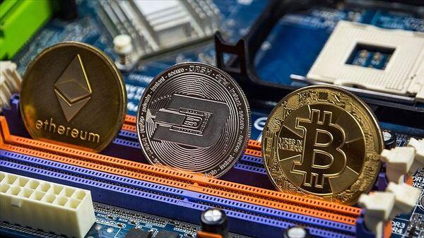 kripto para, Bitcoin, Ethereum - Sputnik Türkiye