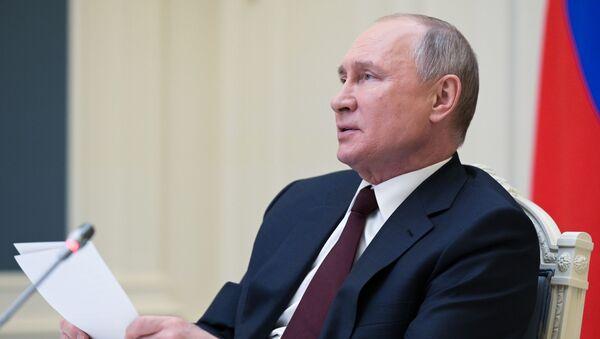 İklim Zirvesi-Vladimir Putin - Sputnik Türkiye