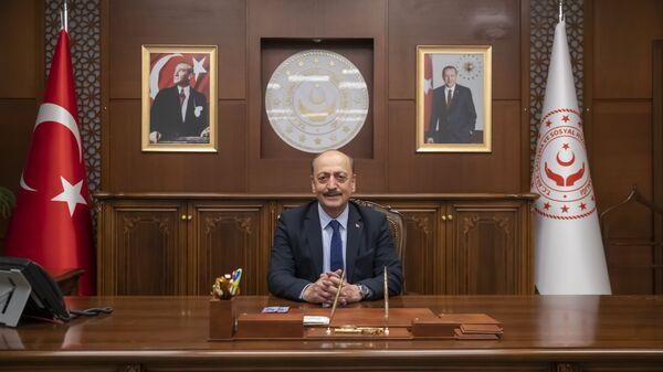 Çalışma ve Sosyal Güvenlik Bakanı Vedat Bilgin - Sputnik Türkiye