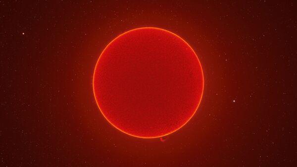 ABD'li fotoğrafçı McCarthy, Güneş'in 230 megapiksel fotoğrafını oluşturdu - Sputnik Türkiye