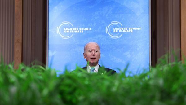 ABD Başkanı Joe Biden, İklim Zirvesi'nde - Sputnik Türkiye