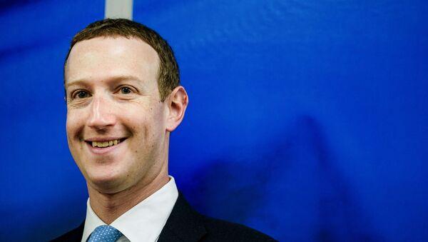 Mark Zuckerberg - Sputnik Türkiye