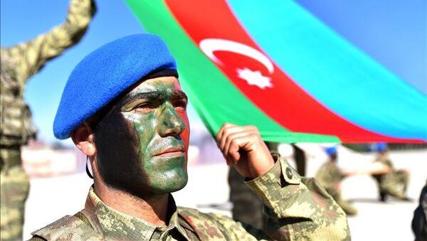 Azerbaycan ordusu, asker - Sputnik Türkiye