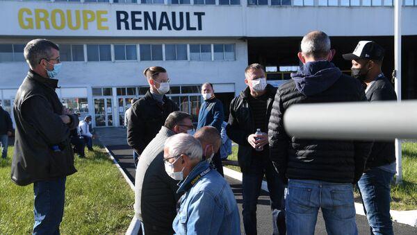 Fransa- Renault fabrikası - Sputnik Türkiye