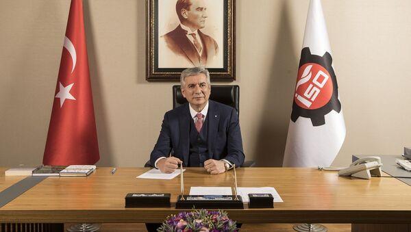 İSO Yönetim Kurulu Başkanı Erdal Bahçıvan - Sputnik Türkiye
