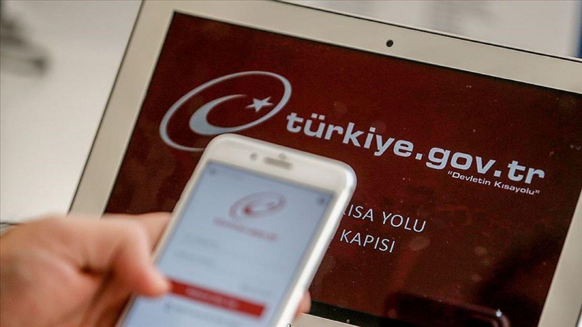 e-devlet - Türkiye.gov.tr - Sputnik Türkiye, 1920, 01.05.2021