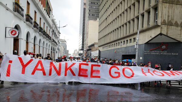 Venezüella'da 1 Mayıs gösterileri - Sputnik Türkiye