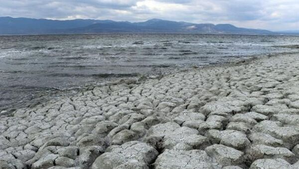 Burdur Gölü'nün kuruyan alanlarından, yılda 2 bin ton zararlı toz etrafa saçılıyor - Sputnik Türkiye