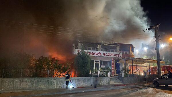 Konya - patlama - Sputnik Türkiye