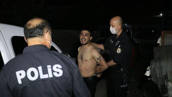 Polis - dur ihtarı - Sputnik Türkiye