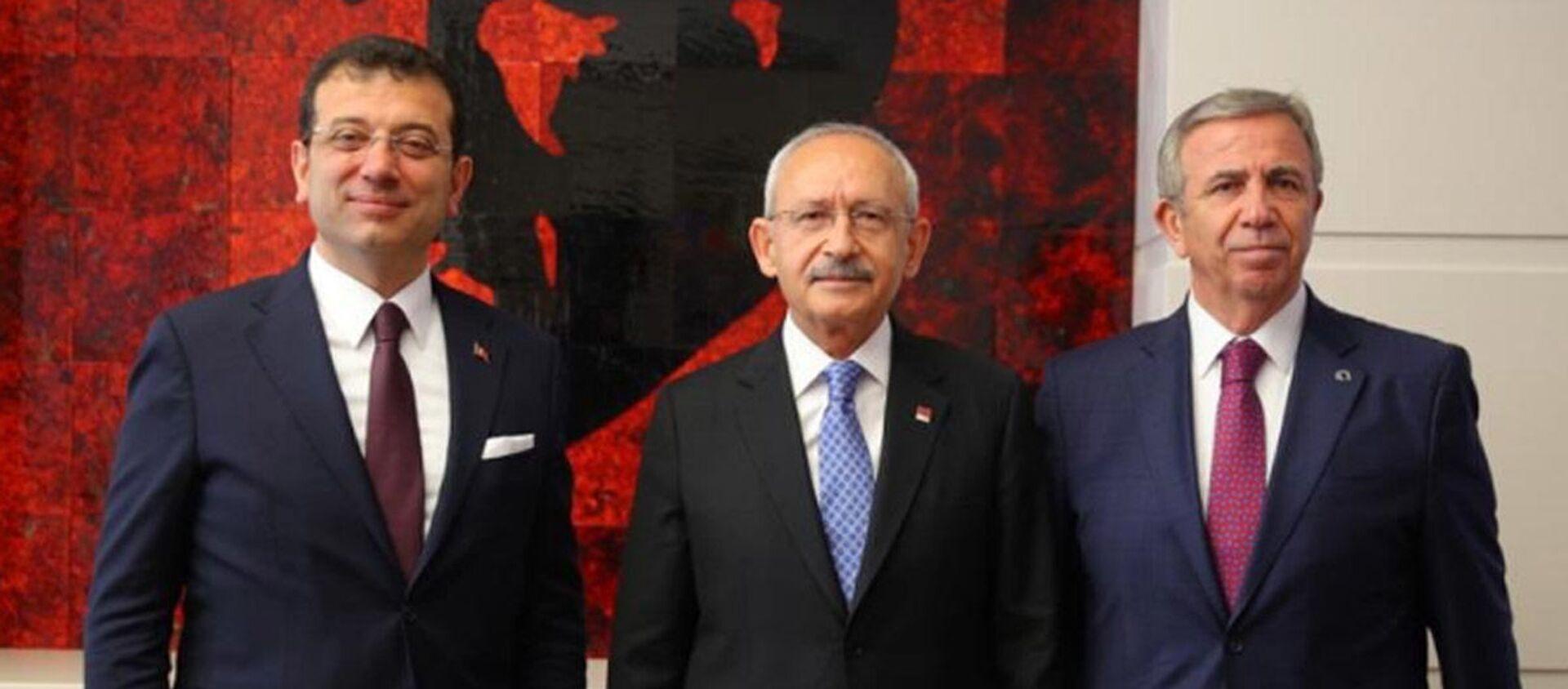 İmamoğlu - Kılıçdaroğlu - Yavaş - Sputnik Türkiye, 1920, 13.07.2021