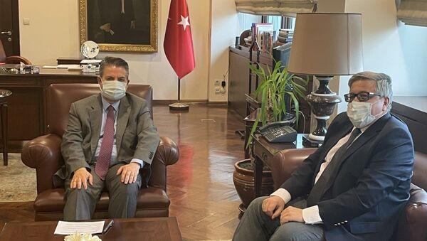 Sedat Önal - Aleksey Yerhov - Sputnik Türkiye