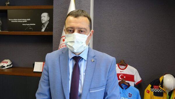 Trabzonİl Sağlık Müdürü Hakan Usta - Sputnik Türkiye