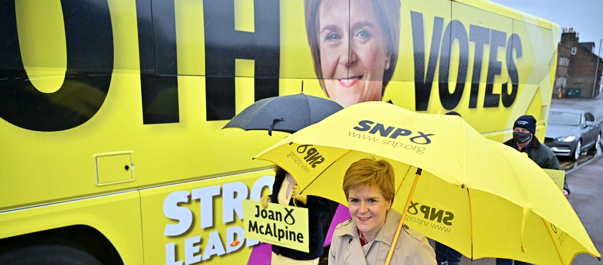 İskoçya 'bağımsızlığın oylanacağı' parlamento seçimlerine gidiyor - Sputnik Türkiye, 1920, 05.05.2021
