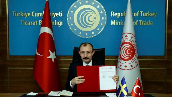 Türkiye ile İsveç arasında JETCO Protokolü imzalandı - Sputnik Türkiye
