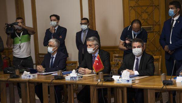 Sedat Önal- Hamdi Sanad Loza- Mısır- Türkiye - Sputnik Türkiye