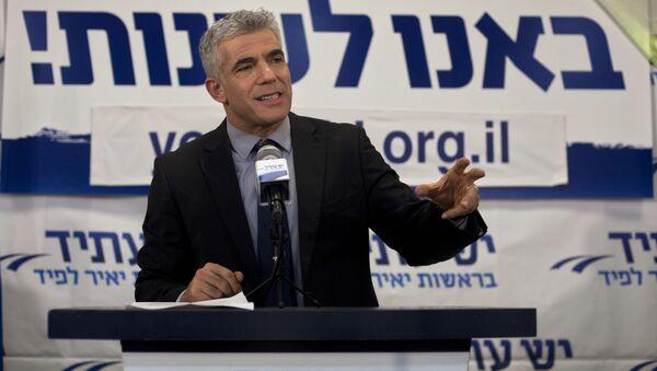 İsrail'de hükümeti kurma görevi, Netanyahu'nun rakibi Lapid'e verildi - Sputnik Türkiye