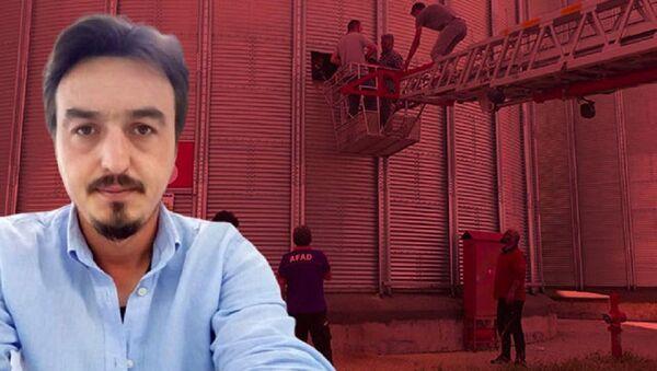 Bakım için girdiği siloda buğday yığınına gömülen teknisyen öldü  - Sputnik Türkiye