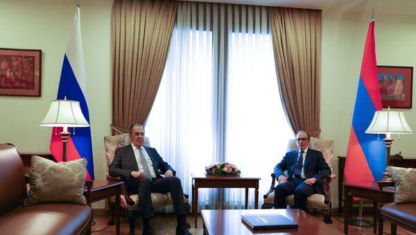 Sergey Lavrov- Rusya- Ermenistan - Sputnik Türkiye