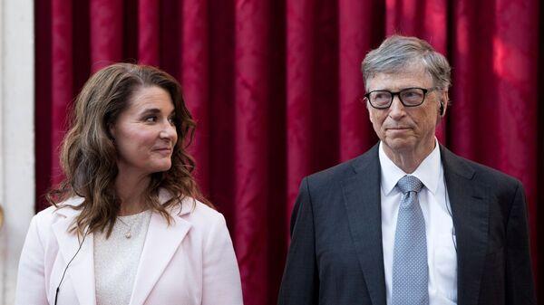 Melinda Gates- Bill Gates - Sputnik Türkiye