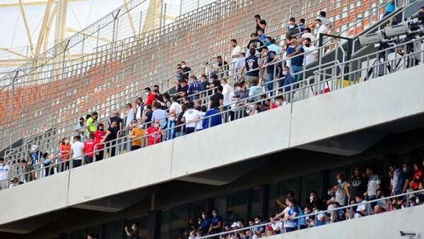 Tam kapanmaya rağmen Adana Demirspor ve Giresunspor taraftarlarının tribünleri doldurması sebebiyle iki kulübe 65'er bin TL para cezası verildi.  - Sputnik Türkiye