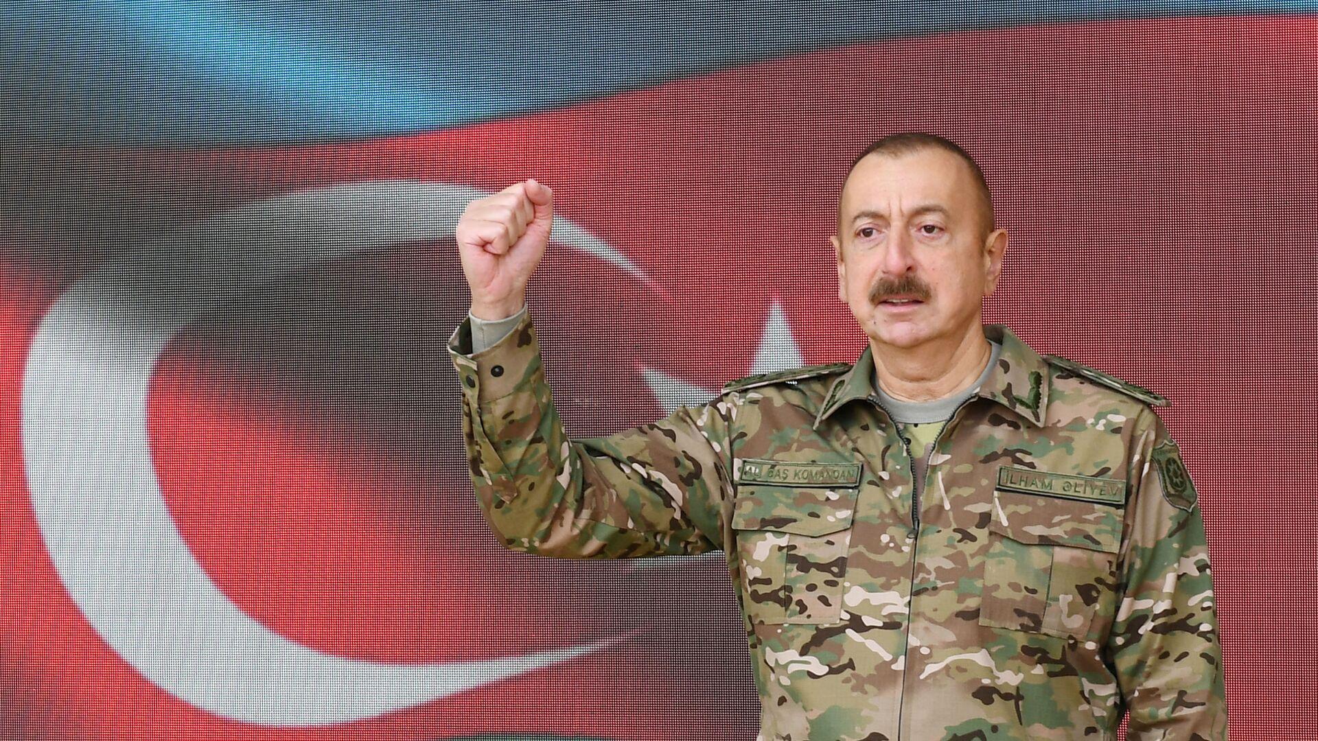 İlham Aliyev- Şuşa - Sputnik Türkiye, 1920, 27.09.2021