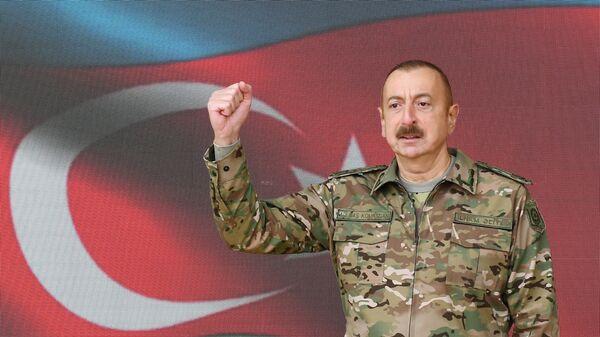 İlham Aliyev- Şuşa - Sputnik Türkiye