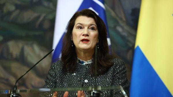İsveç Dışişleri Bakanı Ann Linde - Sputnik Türkiye