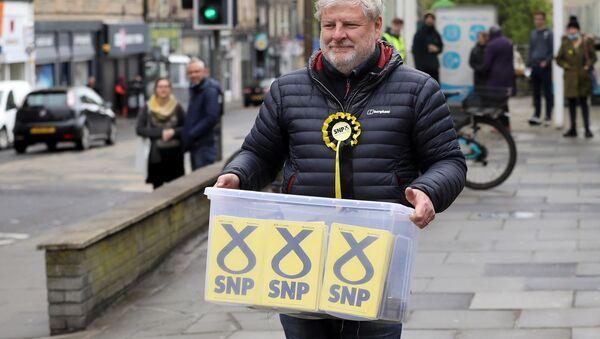 İskoçya - seçim - İskoç Ulusal Partisi - Sputnik Türkiye