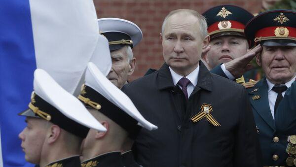 Vladimir Putin - 9 Mayıs Zafer Bayramı - Sputnik Türkiye