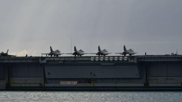Mısır ve Fransa deniz kuvvetleri, Kızıldeniz'de '2021 Ramses' adı verilen ortak askeri tatbikat gerçekleştirdi. - Sputnik Türkiye