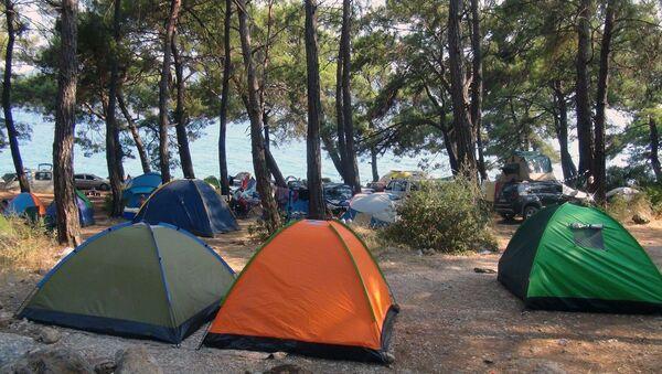 çadır - tatil - Sputnik Türkiye