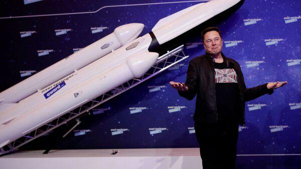 Elon Musk- SpaceX - Sputnik Türkiye