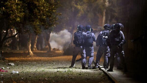 İsrail polisi - Sputnik Türkiye