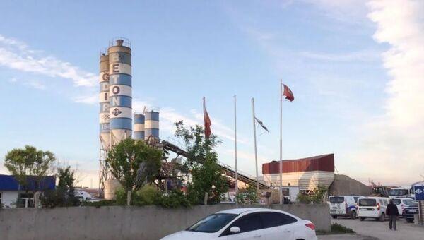 Iğdır'da beton santrali-Mehmet Erdem - Sputnik Türkiye