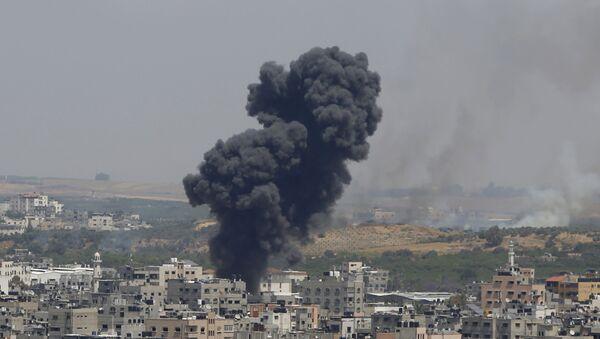 İsrail- Gazze'ye saldırı - Sputnik Türkiye